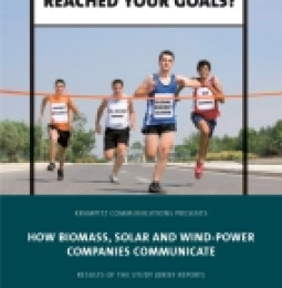 "Krampitz Communications Publishes Brief Report of the Study ""How Biomass, Solar and Wind-power Companies Communicate"""